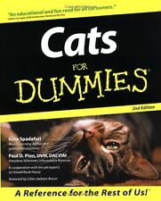 Cats for Dummies by Gina Spadafori, Paul D. Pion