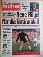 KICKER 2 - 9.1. 1968 Gladbach-Schalke 1:6 BVB-MSV 4:3 Eiskunstlauf Gaby Seyfert