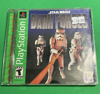 🔥 PS1 PlayStation 1 PSX GAME 💯 COMPLETE WORKING GAME 🔥 STAR WARS DARK FORCES