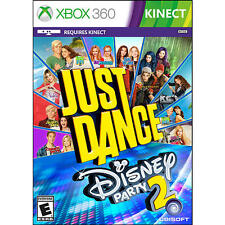 Just Dance Disney Party 2 - Xbox 360 - Ubisoft -Requires Kinect - NEW and SEALED