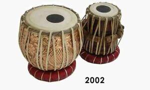 Tabla Drum Set Designer Pro Copper Bayan Handmade Dayan&Hammer&Cusssion&Box 11/1