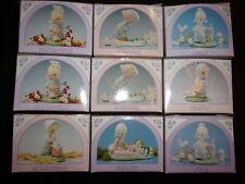 Coleccionable Enesco Precious Moments mensual Lot figuras de plástico en miniatura 9 Nuevo