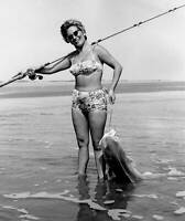 Red Drum (Redfish, Channel Bass) On The Beach 1966 OLD FISHING PHOTO