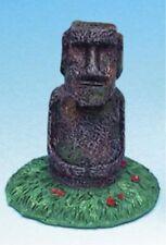 Easter Island Statue Mini Aquarium Ornament - 2.5 in. - RR858 - Penn Plax
