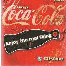 DANCE CD + CD ROM + BOOK  COCA COLA ENJOY THE REAL THING vf5