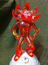 "RARE! 2002 FIFA KOREA JAPAN WORLD CUP MASCOT 11"" Figure Coin Bank 1 Doll Soccer"