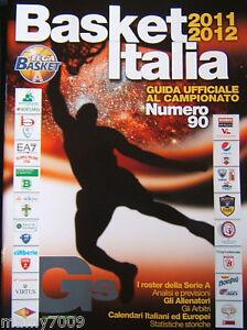 GUERIN SPORTIVO=BASKET ITALIA 2011-12=GUIDA AL CAMPIONATO NUMERO 90