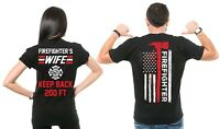 Firefighter Couple T Shirts  Husband And Wife Cool Matching T-shirts Gift ideas