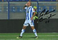 Cristian Galano Pescara Calcio Soccer Signed Sport Foto Autografo Autografata