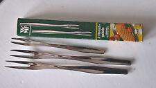 WMF 3 Fleischgabeln Vorlegegabel 17+13 cm Cromargan sehr guter Zustand 60er  OVP