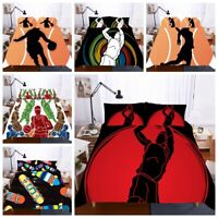 3D Sports Basketball Boys Duvet Cover Bedding Set Comforter Cover Pillow Sham