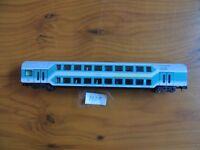 Flm # 8121 # Doppelstockwagen 1/2.Kl., DABz 755, 4-achs., türkis/weiß # o.OVP