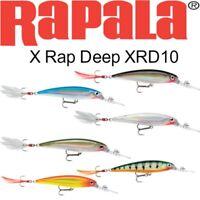 "Rapala X-Rap Deep Diving, XRD-10, 4"", 7/16 oz, Choice of Colors"
