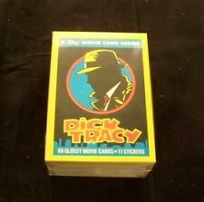 Dick Tracy Complete Trading Card Set Topps