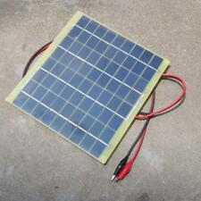 Solar Cell Panel 5 Watt 12Volt For Car Battery Trickle Charger Backpack Power DI