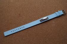 SKY BLUE NEXT REPLACEMENT  14MM WATCH STRAP WITH STAINLESS BUCKLE