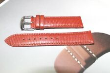TOSCANA 18MM EURO PINK WATCH BAND LIZARD GRAIN  designer WATCHES
