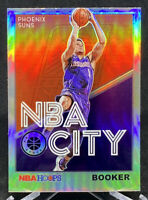 Devin Booker 2019-20 Panini Hoops Premium Stock Silver Holo Prizm NBA City Suns