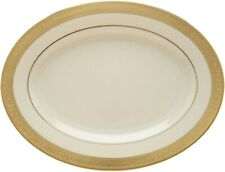 Lenox Westchester 13' Platter Oval (NEW) Made USA 24kt GOLD Accents