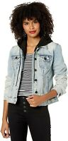 BLANK NYC 240065 Womens Cotton Denim Jacket Casual Encounter Size Large