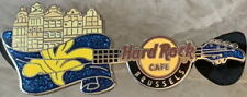 Hard Rock Cafe BRUSSELS 2012 Grand Place City Guitar PIN - HRC #68207
