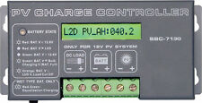 30A Solar Regulator Charge Controller 12V LCD  Manson same as Powertech