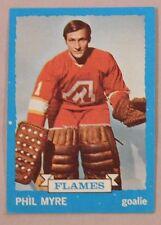 1973 Topps Phil Myre Atlanta Flames #77 Hockey Card Nm