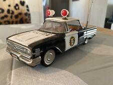 ICHIKO Japan Chevrolet Impala Police Polizei Blech Frictionantrieb 60/70er Jahre