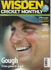 Wisden Cricket Monthly Magazine - May 2001 - Gough, Langer, Atherton
