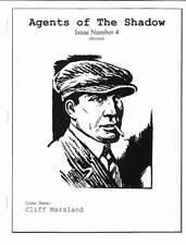 1998 pulp fanzine AGENTS OF THE SHADOW #4 - Mark Nelson illo, the autogiro