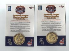 2001 Cleveland Indians & Detroit Tigers American League Charter Member Coins (2)
