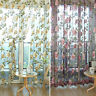 100*200cm Peony Hanging Door Window Room Divider Curtain Valance 2 Colors JR