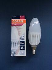 8 x Osram LED Parathom Classic B 25 - 4 Watt/827 Warm White - E14 - 170 lm