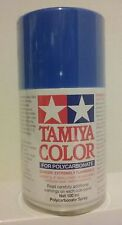 Tamiya Polycarbonate aerosol paint PS -30 Brilliant Bue.