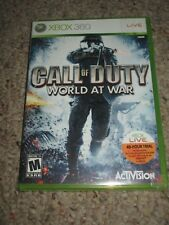 Call of Duty: World at War (Microsoft Xbox 360, 2008) NEW Sealed Original