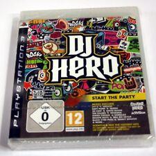 JEU SONY PS  3 dj hero start the party    NEUF