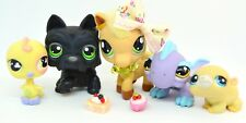 Littlest Pet Shop Ultra Rare & Uncommon Pet Lot - Horse Bird Lizard Hamster Dog
