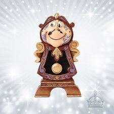 COGSWORTH BEAUTY & BEAST Jim Shore Disney Traditions Floor Clock Watch 4049621