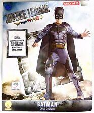 Rubies Justice League Childs Batman Costume Halloween Jumpsuit Size Large 12-14