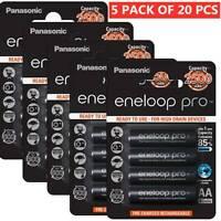 4-15 Cards Panasonic eneloop Pro 2500mAh AA Batteries Ni-MH Rechargeable Battery