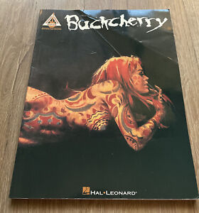 Buckcherry Authentic Guitar Tab Hal Leonard Rare