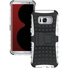 Handy Hülle für Samsung Galaxy Case Schutz Hülle Panzer Cover Tasche Etui Bumper