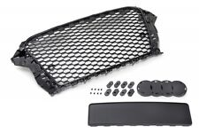 Audi A3/S3 8V 12-16 Badgeless Mesh Grill Debadged Sport Front Grill S Line RS-