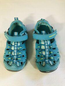 Merrell Baby girls Casual /& comfy Hydro Monarch 3.0 Sport Sandal Size 5.5W