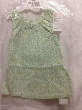 Uniqlo Baby girl's Sleeveless Summer Dress Green (18-24M)