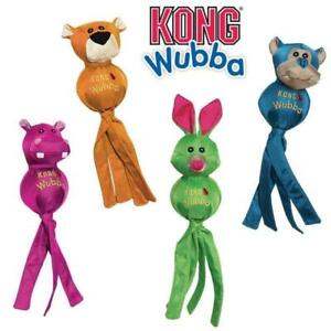 KONG Wubba Ballistic Friends (3 Sizes - S, L, XL) Dog Toy Puppy