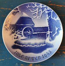 Jule-Aften Bing & Grøndahl 1945 Christmas Plate in porcelain - Made in Denmark