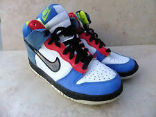 Nike dunk hi tops formateurs taille uk 4 EUR 36,5