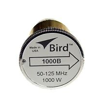 Bird 1000B Plug-in Element 0 to 1000 watts 50-125 MHz for Bird 43 Wattmeters