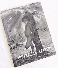 1958 'Australian Letters', PATRICK WHITE Prodigal Son Article +Voss Review ~Rare